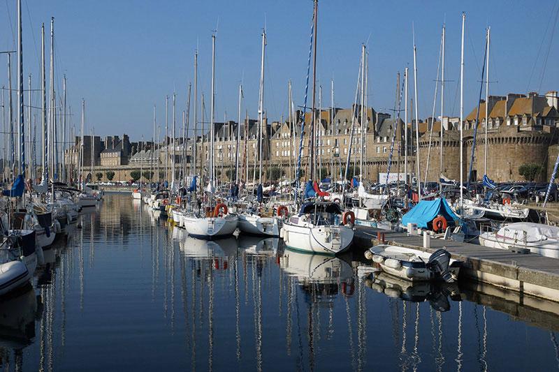 Sait-Malo : le port