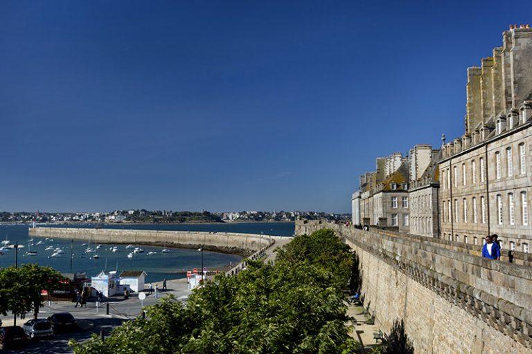 Saint-Malo : les remparts