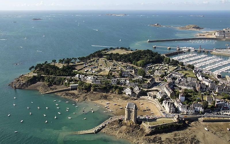 Cité d'Aleth à Saint-Malo