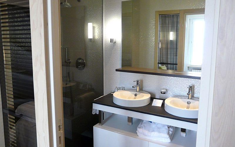 Chambre Escale Superieure : salle de bain