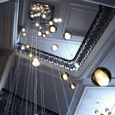 suspension-escalier