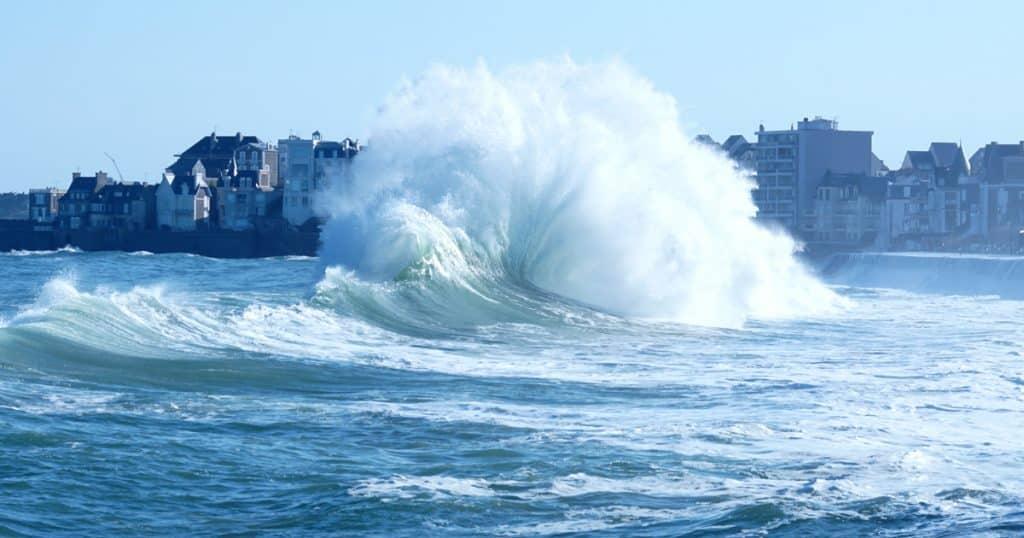 Les grandes marées à Saint-Malo 2