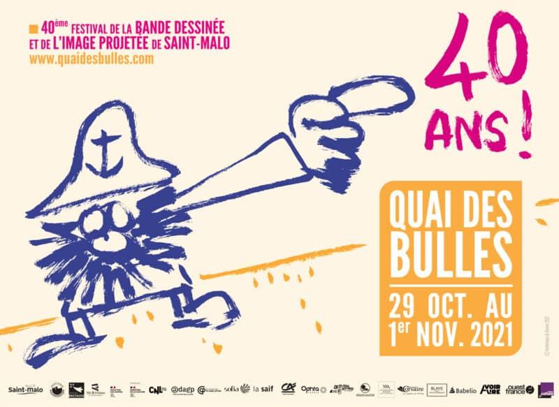 Festival Quai des Bulles à Saint-Malo