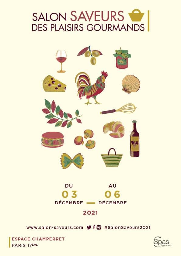 Salon Saveurs des plaisirs gourmands à Paris 10