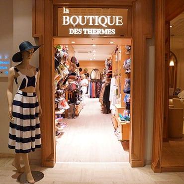 boutique des thermes