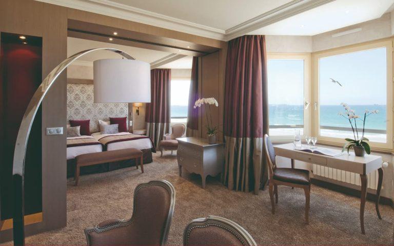 Chambre Suite avec vue sur mer