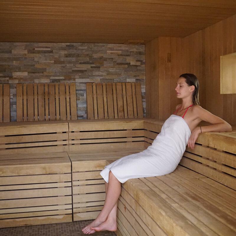 Sauna du Parcours Aquatonic